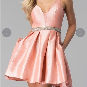 Gorgeous Pink Short Prom Dress